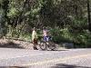 Jens ber om å få bytte sykkel siden det plutselig ble veldig bratt